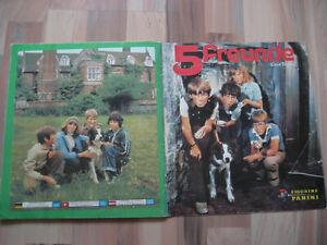 Panini Album / Sammelalbum 5 Fünf Freunde von 1978 Enid Blyton komplett