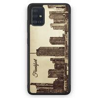 Vintage Panorama Frankfurt Silikon Hülle für Samsung Galaxy A51 Motiv Design ...