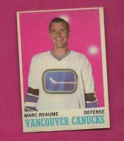 1970-71 OPC  # 119 VANCOUVER CANUCKS MARC RHEAUME EX+ CARD (INV#4056)