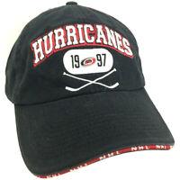Carolina Hurricanes Hat Hockey 1997 Logo NHL Baseball Strap Back Trucker Cap