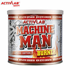 Machine Man Burner 120 Capsule Fat Burner Perdita di Peso Pillole Dimagranti Termogenico
