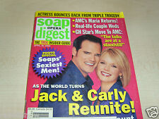SOAP OPERA DIGEST 04/2002 ~ ATWT Jack & Carly ~ Winsor Harmon ~ Kyle Lowder