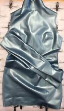 R1760/R0341 Latex Rubber Mini Garter DRESS/MITTENS SET *Shown* 12 UK SECONDS