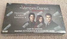 Factory Sealed Hobby Box of Vampire Diaries season 4 - from Cryptozoic