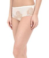 La Perla Ivory/Nude Privilege Boyshort Panty Women's Size Large 57632