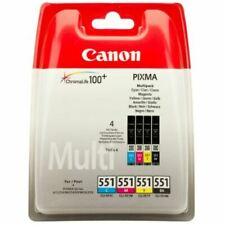Multipack of 551 Genuine Original Printer Ink Cartridges for Canon Pixma MG5550
