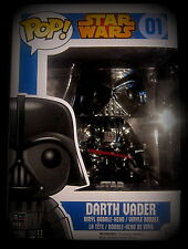 STAR WARS Darth Vader - Vinyl Figur - Limited Chrome Edition - Funko Pop!