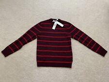CK Calvin Klein Red Chestnut  Wool Sweater Henley M Mens Retails For $98