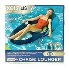 Kelsyus GR01218C Deluxe Chaise Lounger with Jet Valve Technology