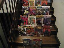 Batman Bruce Wayne Fugitive Lot Complete 2002 18 Book Set