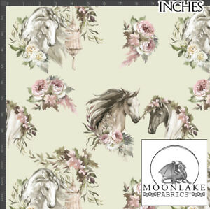 Appleby Horse Fair, Horses  100% Quality Cotton Poplin Fabric *Exclusive*