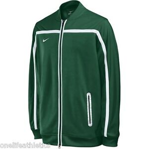 Nike BB10 Mens Warm up Zip Jacket Green $70 retail