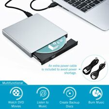 USB 2.0 External DVD-R CD-RW Combo Burner Drive DVD ROM for PC Laptop Dell Dell