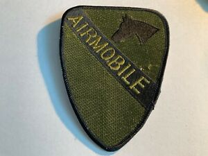 1st Cavalry Division Airmobile Subdued Patch
