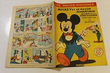 LES BELLES HISTOIRES DE DISNEY 20 spetembre 1955 mickey et le rayon magnétique