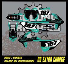 KTM 1999-2019 SXF XC EXC kit de gráficos de Motocross 50 65 85 125 150 250 450