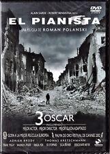 Roman Polanski: EL PIANISTA. Tarifa plana en envío dvd España, 5 €