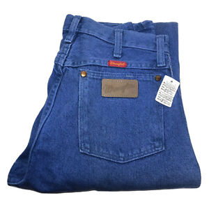 Vintage Wrangler USA Rodeo Blue Jeans Rodeo Ladies 14MWZOW Cowboy Cut 7X36 USA