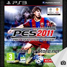 Jeu PS3 PES 11 Pro Evolution Soccer 2011 + Publicité & Questionnaire (2)