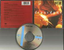 PEARL JAM Dissident 7TRX w/ 6 RARE LIVE TRACKS USA LIMITED CD single 1994