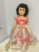 "Fits 19"" 20"" Chatty Cathy Doll Clothes Holiday Christmas Party Prom Dress Only"