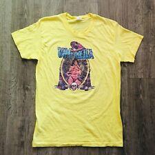 Vintage Euc Super Rare 1975 Yellow Hanes Vampirella T-Shirt Size Medium