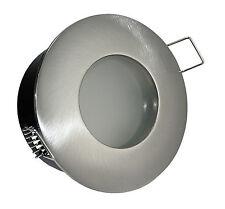 Halogen / LED Einbaustrahler für Bad AQUA IP65 Nass- Feuchträume GU10 o. GU5.3