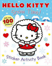 HELLO KITTY - SNOW TIME STICKER ACTIVITY BOOK - NEW