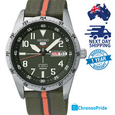 SEIKO 5 SPORTS SRP515 Military 4R36 Army Green Automatic Mens Watch