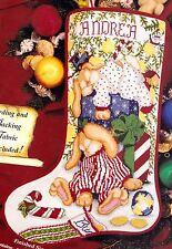 Janlynn Sleepy Bunnies  Baby Bunny Christmas Cross Stitch Stocking Kit 54-71 E