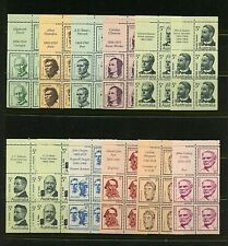Australia #446a-457a (Au540) Complete set of Bklt Panes of 5 with Labels, Mnh,Vf