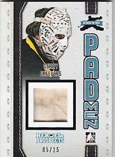 2014-15 ITG LEAF BETWEEN THE PIPES GERRY CHEEVERS /15 PADMEN #PM-GC1 14-15