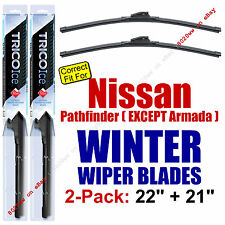 WINTER Wiper Blades 2pk - fit 2004 Nissan Pathfinder (Except Armada) - 35220/210