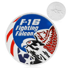 F-16 Fighting Falcon Air Force Eagle Art Challenge Commemorative Coin Physical