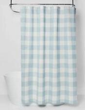 Threshold Gingham Checkered Shower Curtain