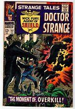 STRANGE TALES #151 - Nick Fury & Doctor Strange  VG/FN 1966 Vintage Marvel Comic