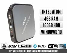 Acer Veriton Mini Media Kodi XBMC TV HDMI PC | Intel 1.66GHz | 4GB 160GB Win 10