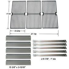 Brinkmann 810-2545-W Gas Grill Replacement Burner,Heat Plate,Cooking Grate