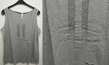 Lockre Sitzende Damenblusen,-Tops & -Shirts mit Baumwollmischung ohne Muster für Freizeit