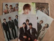 JYJ LOT of Lotte Duty Free Clear File Folders Jaejoong Junsu Yoochun