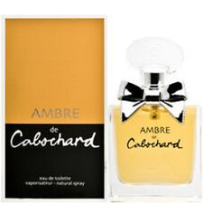 AMBRE DE CABOCHARD  EAU DE TOILETTE  LOT DE 2 X 100 ML - NEUF / BLISTER