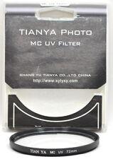 Tianya photo mc 72mm 72 UV-filtro Filtro objetivamente protection protección de filtro