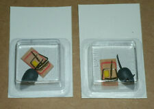 Two 1/16 Scale Mouse Trap Decoration Toy Replicas - Halloween Diorama Decor