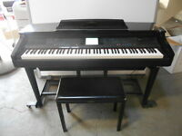Yamaha CVP-96 Clavinova Digital Piano with ClaviMover