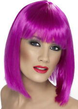 The Sexy Chesire Cat Style Purple Glam Wig