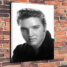 "Elvis Presley Printed Box Canvas Picture A1.30""x20""Deep 30mm Frame The King v2"