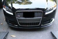 Für Audi A4 S4 8E/B7 Front Spoiler Lippe Frontschürze Frontlippe Frontansatz