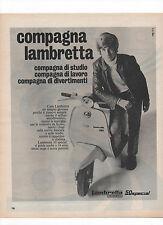 Pubblicità 1970 LAMBRETTA 50 SPECIAL MOTO MOTOR advertising werbung publicitè