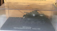 "DIE CAST TANQUE "" M4A3 SHERMAN 756th tanque BATALLÓN DE FRANCE - 1945 "" 1/72"