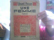 Edouard Peisson pour Une femme